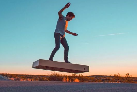 Real Hoverboards That Don't Touch the Ground